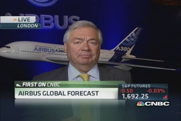 Airbus COO : China will be number one market in 20 years