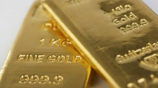 Two 1 kilo fine gold bars pawned for a £50,000 loan from Borro
