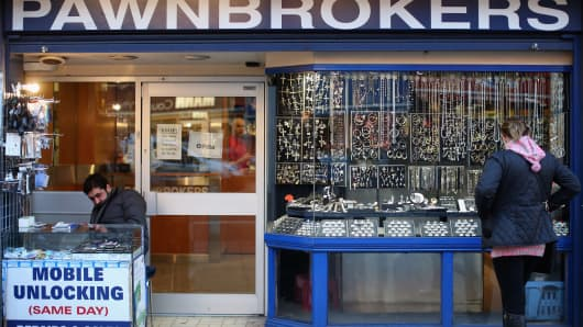 The assets of a high street pawn shop differ from its luxury counterparts