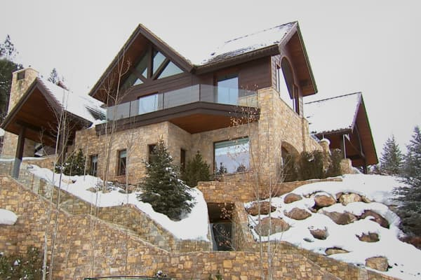 """The Ski Home"" in Aspen, Colo."