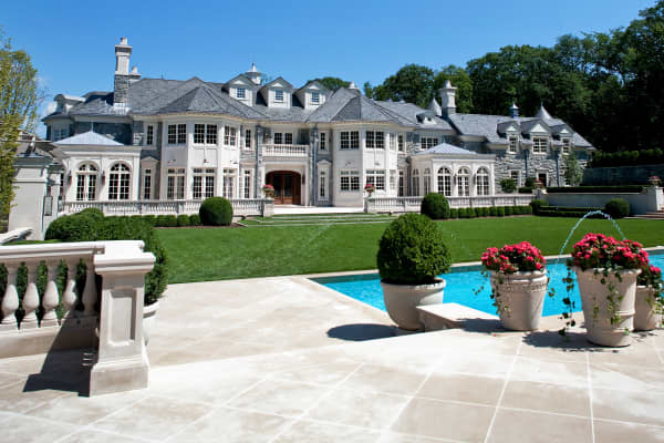 Stone Mansion in Alpine, New Jersey