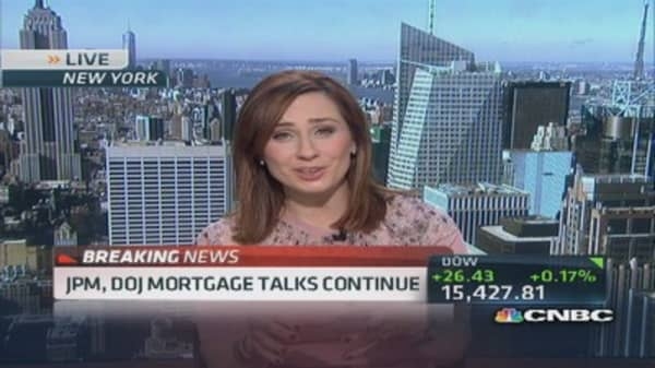 JPM, DOG mortgage talks continue