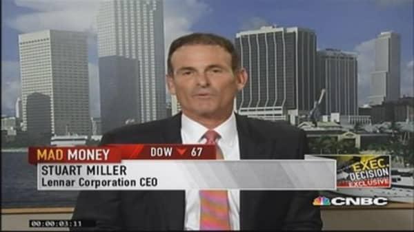 Lennar CEO: Positive on housing next 3-5 years