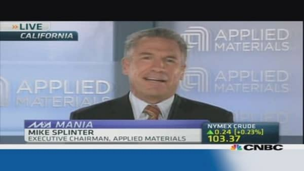 AMAT: Expect 3 point increase in market share