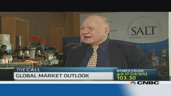 Marc Faber: Chinese growth may slow to 4%