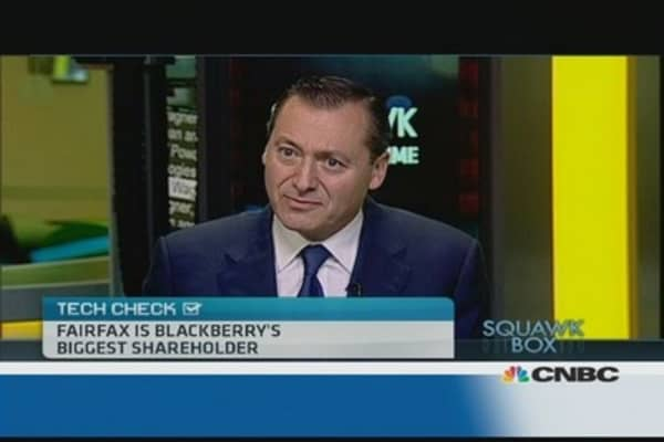 Beginning of the end for Blackberry?