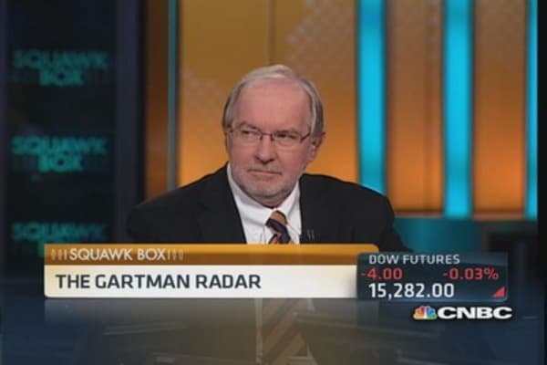 Gartman: Leave tapering to next Fed group