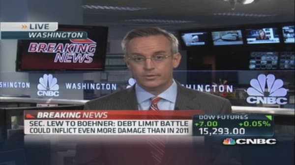 Debt limit date: October 17