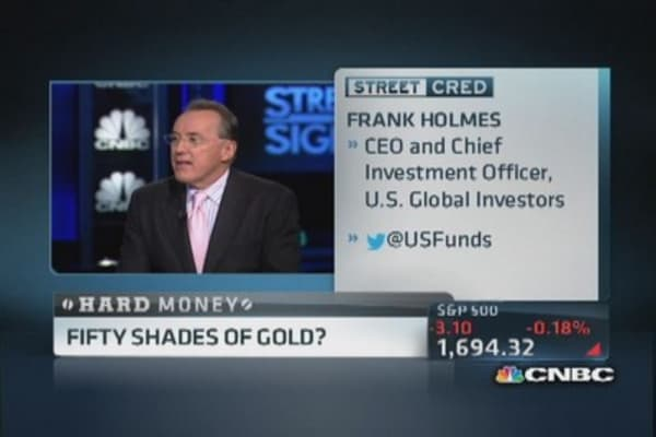 Fifty shades of gold?