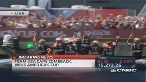 Team USA wins America's cup