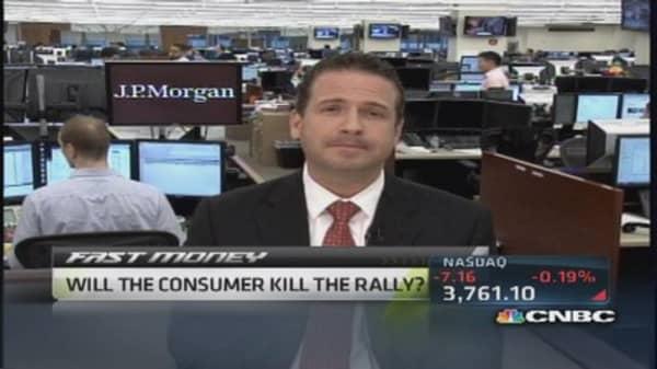 Will the consumer kill the rally?