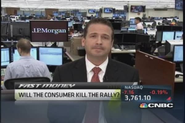 Will the consumer kill the rally?