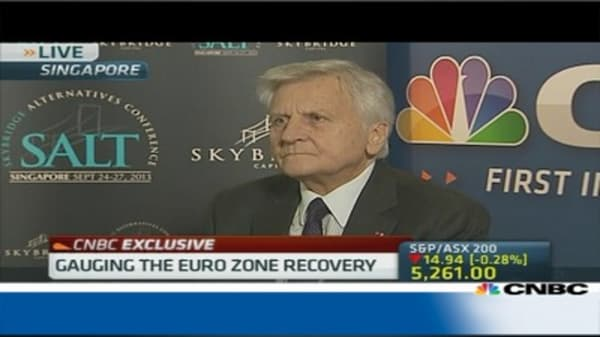 Trichet: Need progress on Europe's banking union