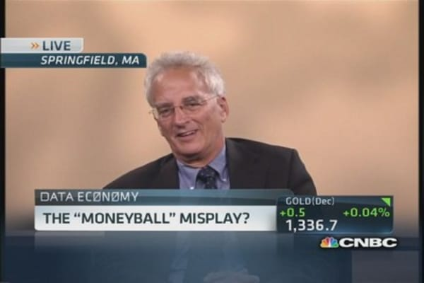 The 'Moneyball' misplay?