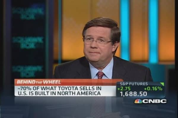 Toyota exporting 'Made in the USA' vehicles