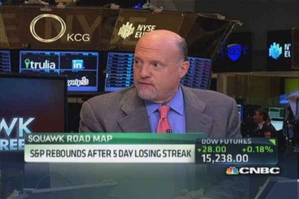 Cramer: Bet on Biotech, despite gov't uncertainty