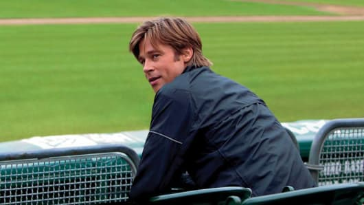 Brad Pitt in 'Moneyball'