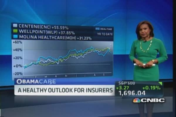 Obamacare: A healthy outlook for insurers