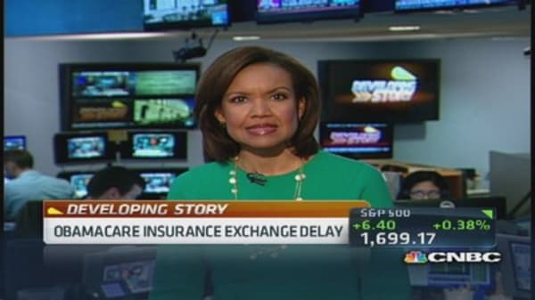 Obamacare exchange delay for small biz portal