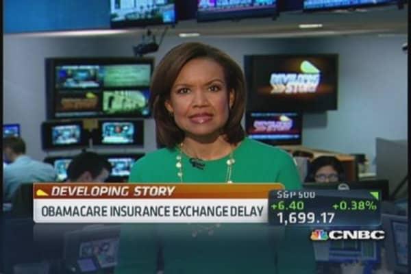 Obamacare exchange delay for small biz portal