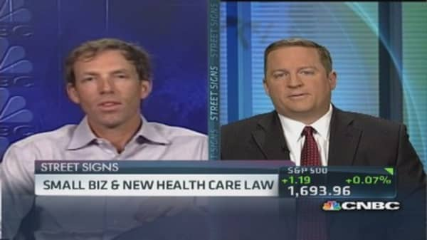 Small biz & new health care law