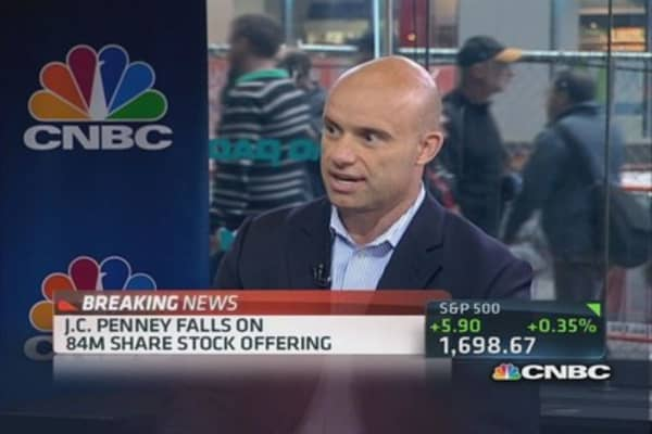 Is JCP's situation 'a death spiral?'