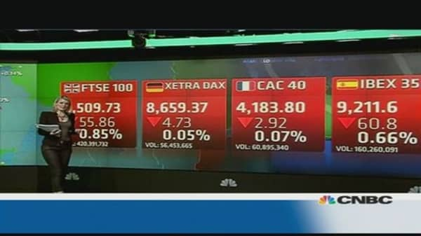 European market closes down