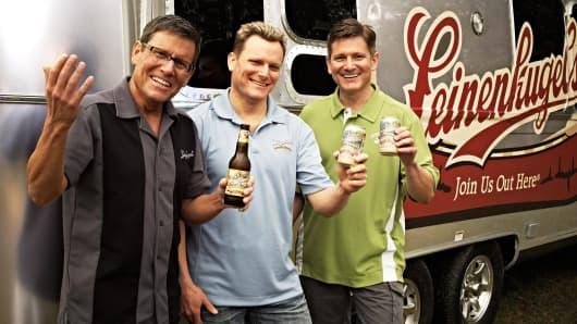 Jake, John and Dick Leinenkugel