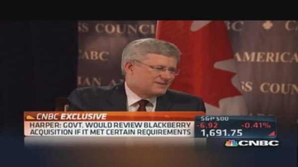 Canadian Prime Minister on Keystone pipeline