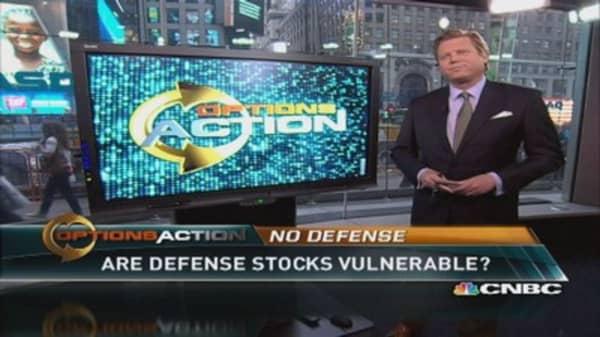 Are defense stocks vulnerable?
