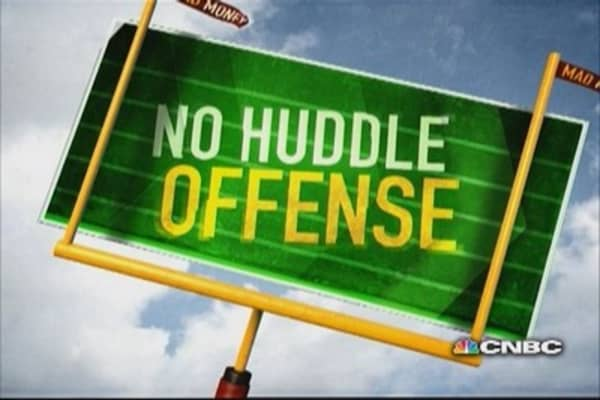 No Huddle Offense: A Wall Street theme