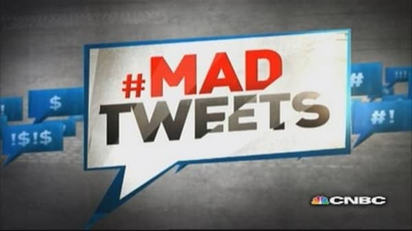 Mad Money tweets