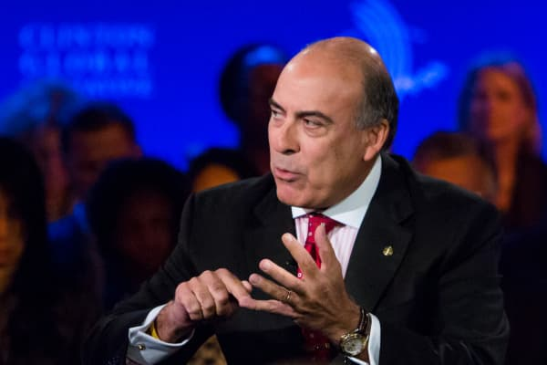 Muhtar Kent, CEO of The Coca Cola Company speaks at the 2013 Clinton Global Initiative.