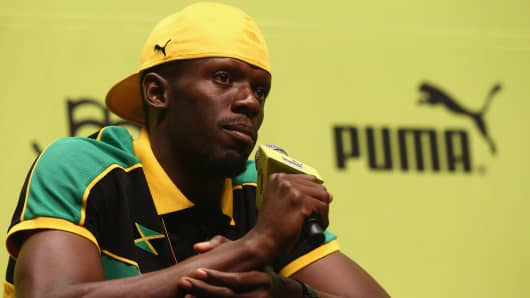 Image result for usain bolt puma