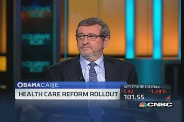 Will glitches snag health care reform launch?