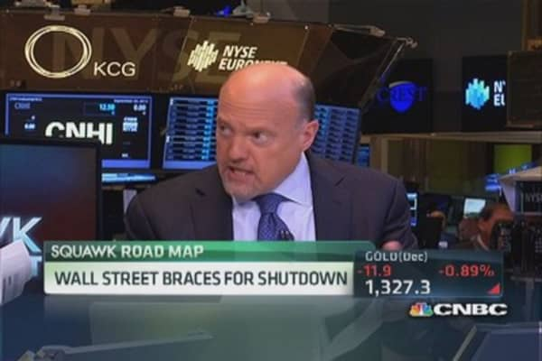 Cramer: Take cash off the table now