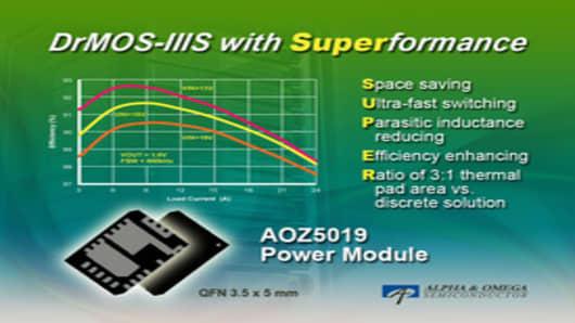 DrMOS-IIIS with Superformance