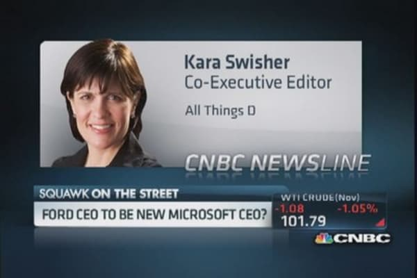 Who's on the list to head Microsoft?