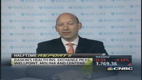 Health insurance exchange plays