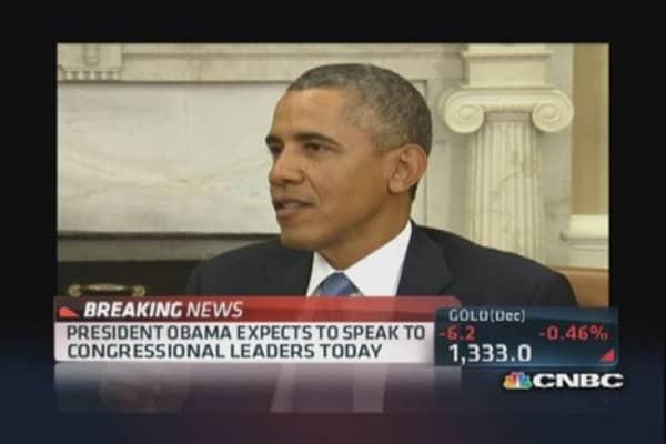 Obama on shutdown showdown