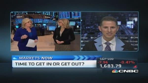Shutdown worries weigh on markets