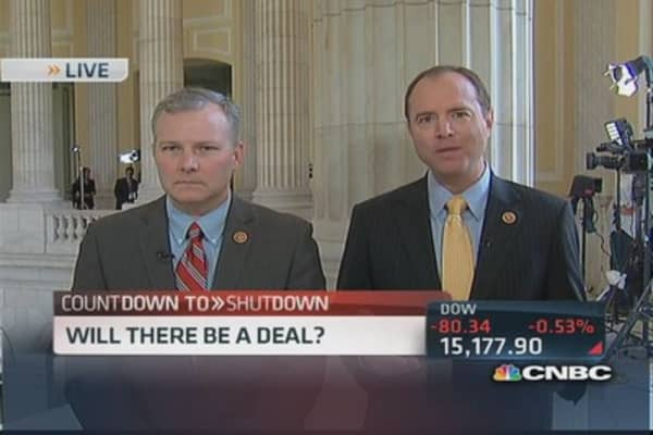 Still a chance to avoid shutdown: Rep. Griffin