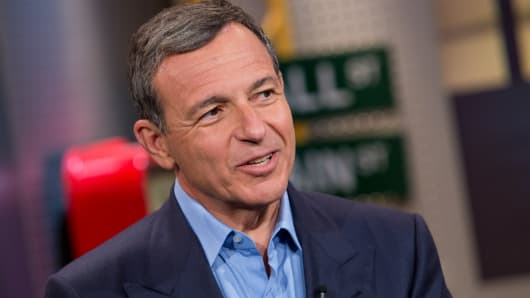 Bob Iger, chairman and CEO of the Walt Disney Company