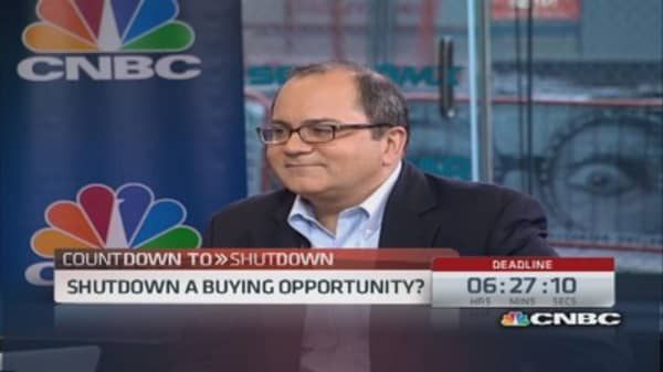 Government shutdown 'buy' list: Strategist