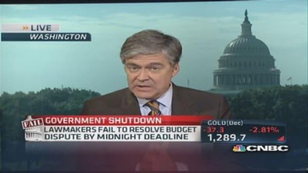 Shutdown: Let the finger-pointing begin
