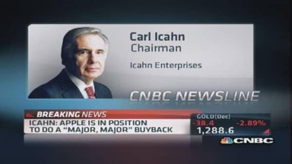Apple's board is 'not God': Icahn