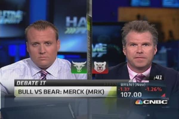 Time to buy Merck?