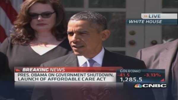 President Obama: Republican shutdown did not have to happen