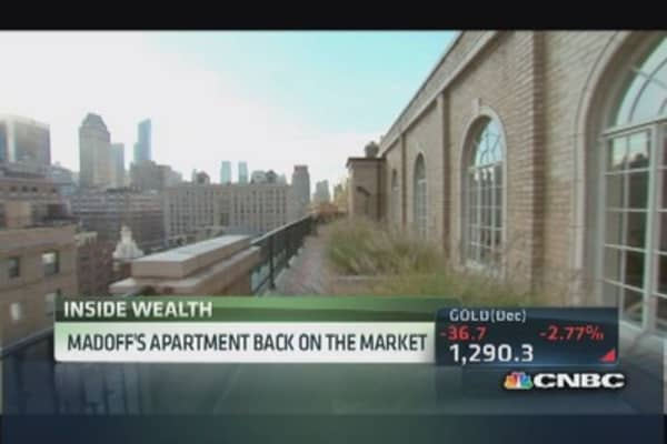 Madoff's ex-penthouse for sale