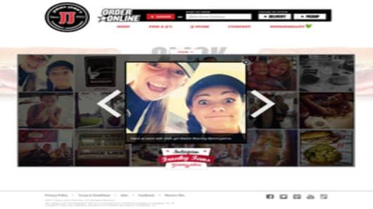 Jimmy John's Website